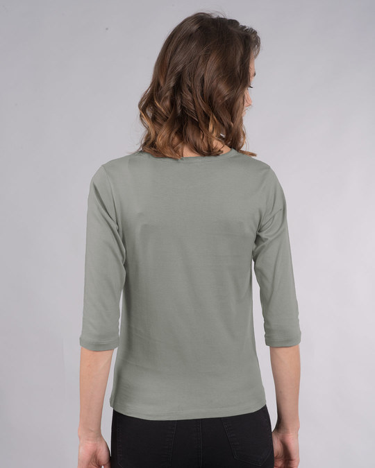 Shop Professional Binge Round Neck 3/4th Sleeve T-Shirt-Back