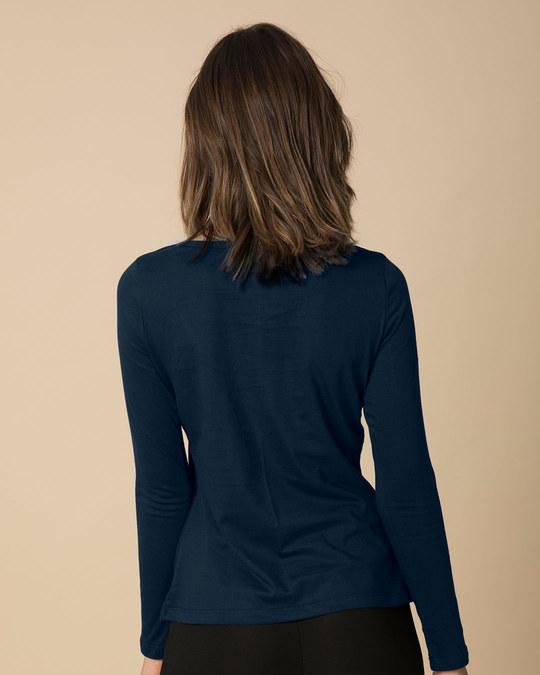 Shop Professional Binge Scoop Neck Full Sleeve T-Shirt-Back