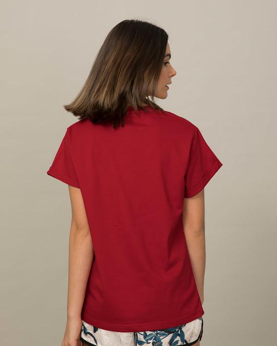 Shop Professional Overthinker Boyfriend T-Shirt-Back