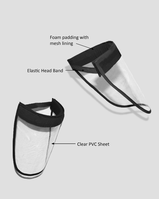 Shop Protective Face Shield  - Pack of 2