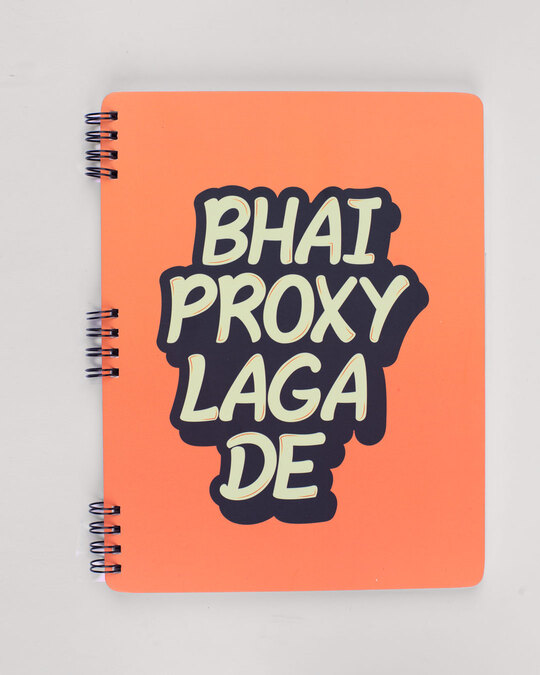 Shop Proxy Laga De Spiral Notebooks-Front