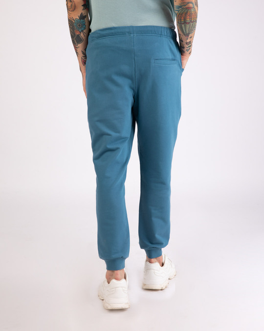 Shop Prussian Blue Casual Jogger Pant-Design
