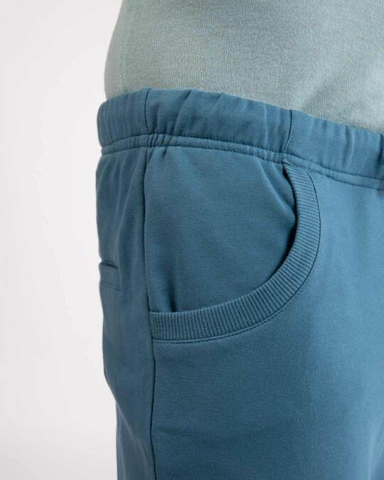 Shop Prussian Blue Casual Jogger Pant