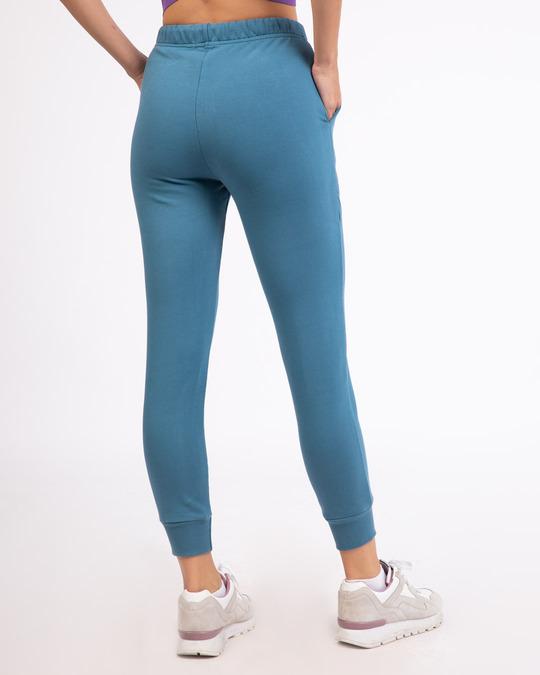 Shop Prussian Blue Casual Jogger Pant-Design