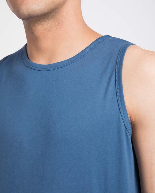 Shop Prussian Blue Vest