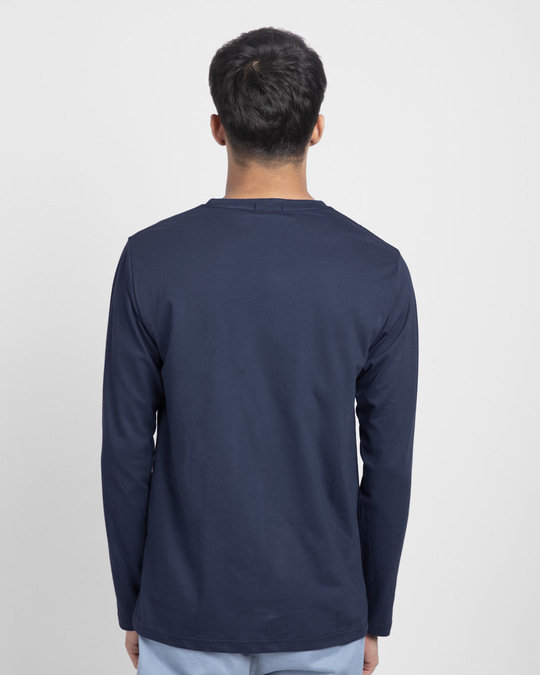 Shop Ps Buttons Full Sleeve T-Shirt-Back