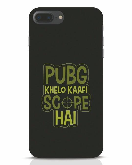 Shop Pubg Khelo iPhone 7 Plus Mobile Cover-Front