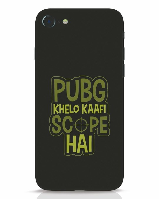 Shop Pubg Khelo iPhone 8 Mobile Cover-Front