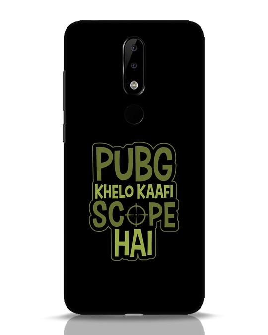 Shop Pubg Khelo Nokia 5.1 Plus Mobile Cover-Front