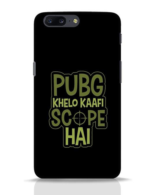 Shop Pubg Khelo OnePlus 5 Mobile Cover-Front