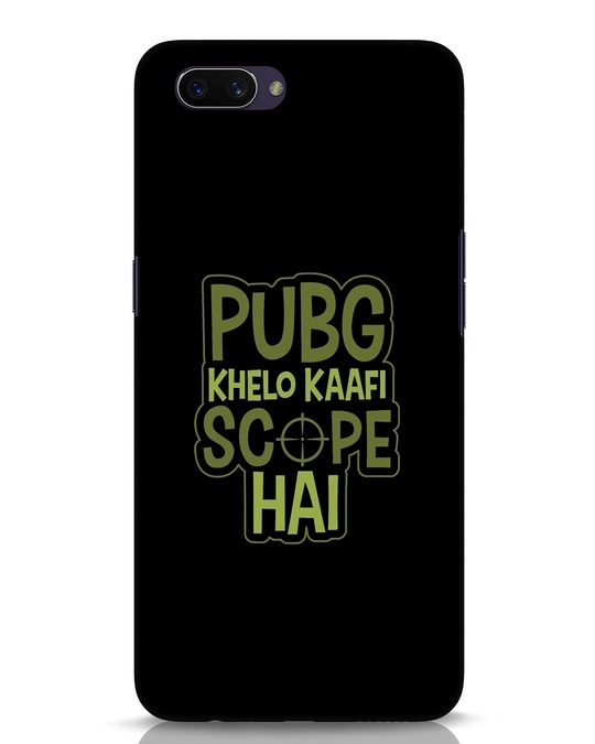 Shop Pubg Khelo Oppo A3S Mobile Cover-Front
