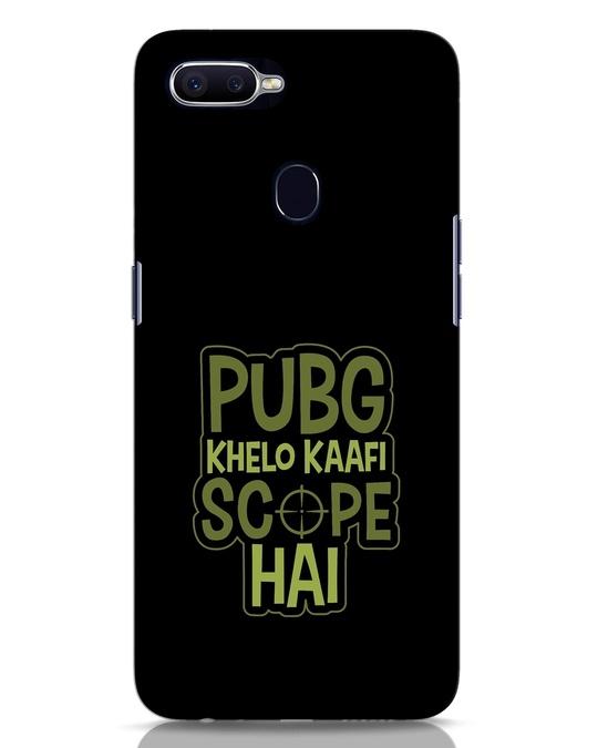 Shop Pubg Khelo Oppo F9 Pro Mobile Cover-Front