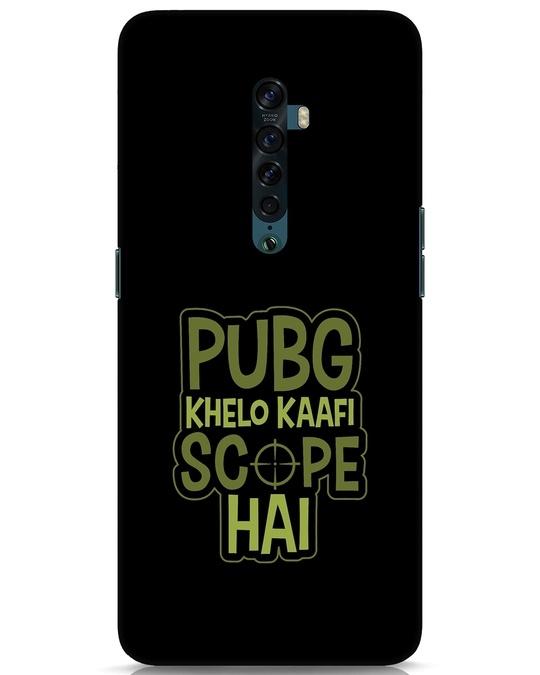 Shop Pubg Khelo Oppo Reno 2 Mobile Cover-Front