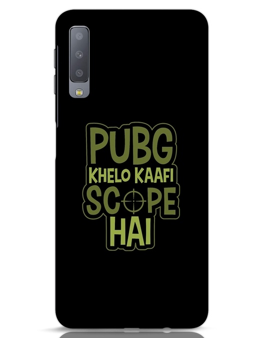 Shop Pubg Khelo Samsung Galaxy A7 Mobile Cover-Front