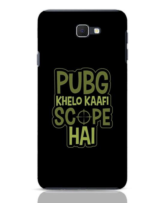 Shop Pubg Khelo Samsung Galaxy J7 Prime Mobile Cover-Front