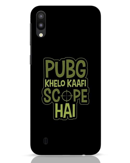 Shop Pubg Khelo Samsung Galaxy M10 Mobile Cover-Front