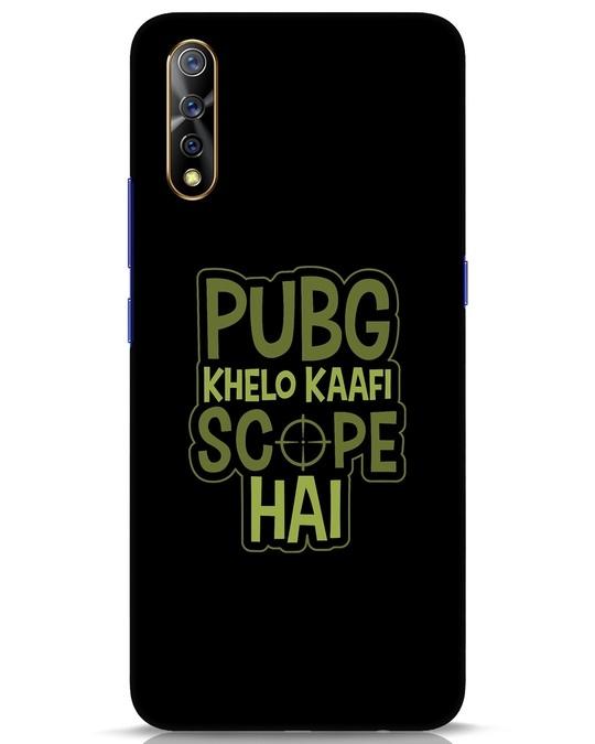 Shop Pubg Khelo Vivo S1 Mobile Cover-Front