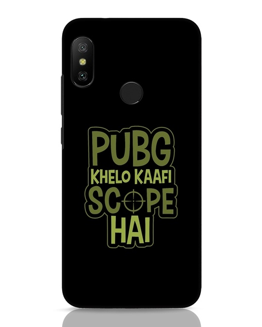 Shop Pubg Khelo Xiaomi Redmi Note 6 Pro Mobile Cover-Front