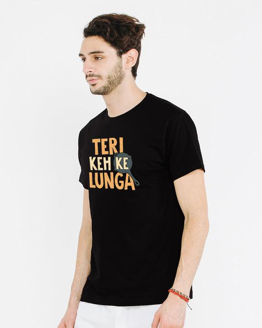 Shop Pubg Me Keh Ke Lunga Half Sleeve T-Shirt-Design