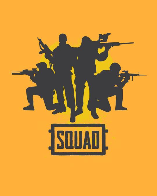 Shop Pubg Squad Full Sleeve T-Shirt-Full