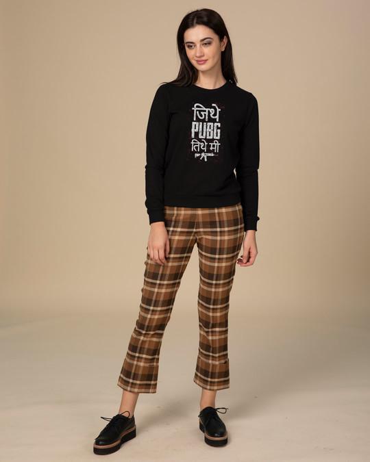 Shop Pubg Tithe Me Sweatshirt-Full