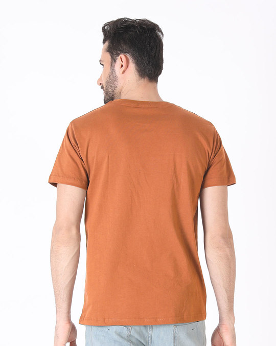Shop Puch Mere Baare Mein Half Sleeve T-Shirt-Back