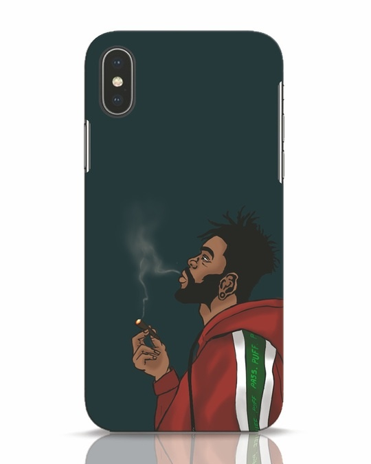 Shop Puff Puff Pass iPhone X Mobile Cover-Front