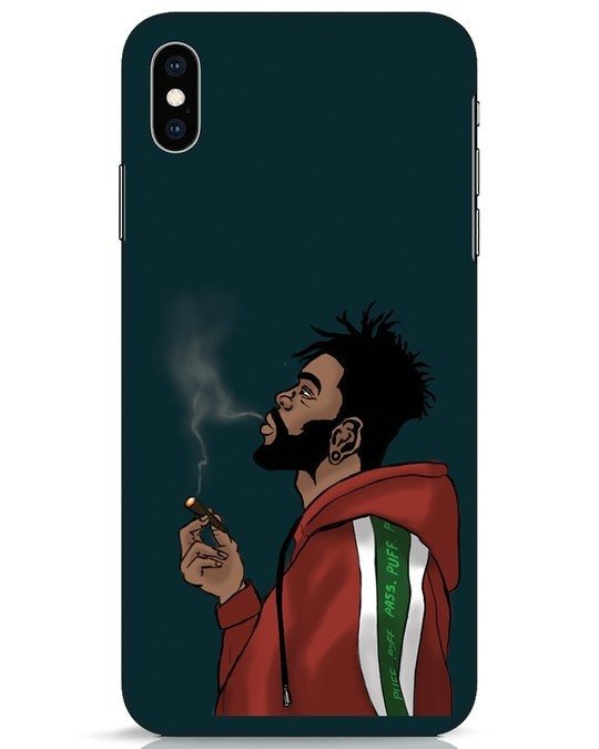 Shop Puff Puff Pass iPhone XS Max Mobile Cover-Front