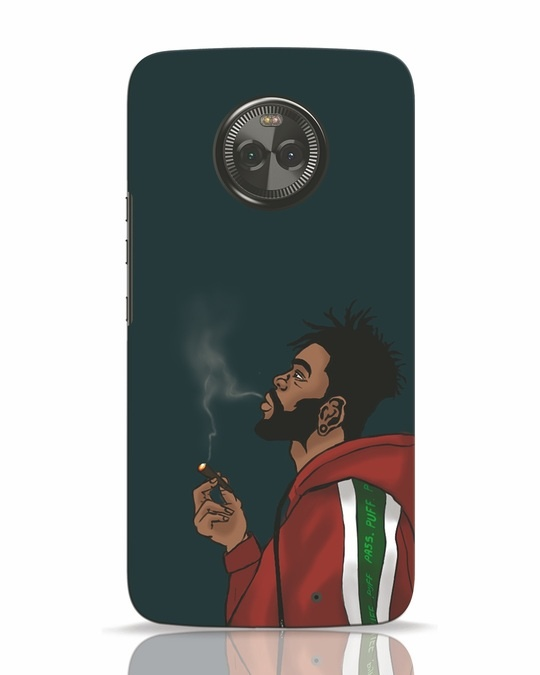 Shop Puff Puff Pass Moto X4 Mobile Cover-Front