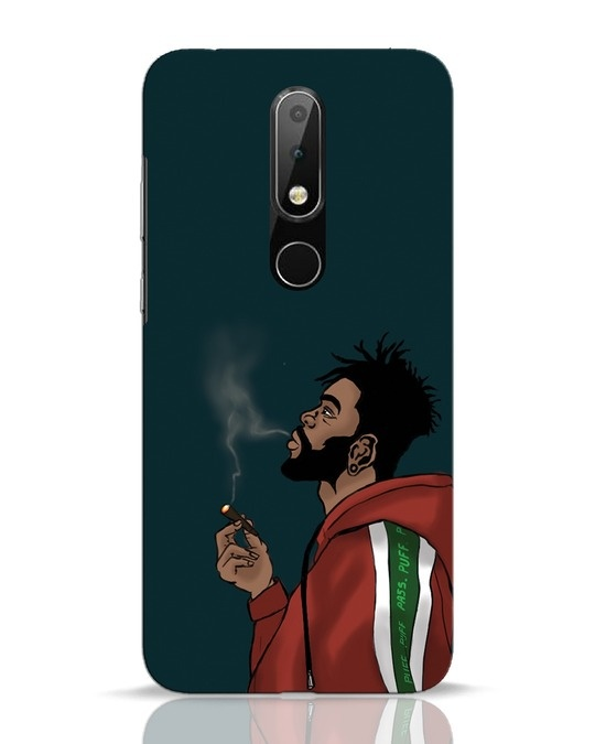Shop Puff Puff Pass Nokia 6.1 Plus Mobile Cover-Front