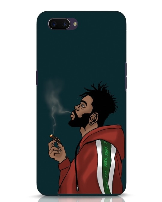 Shop Puff Puff Pass Oppo A3S Mobile Cover-Front