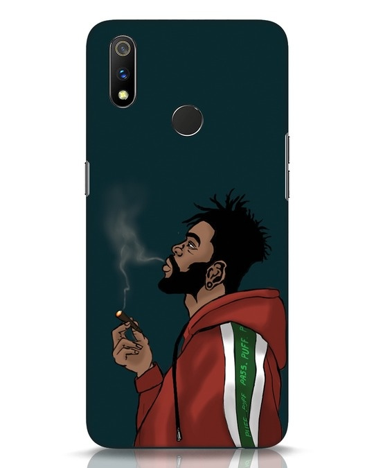 Shop Puff Puff Pass Realme 3 Pro Mobile Cover-Front