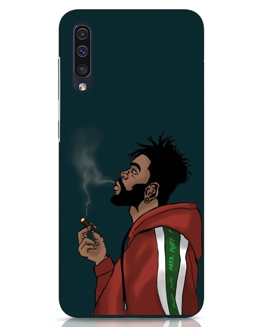 Shop Puff Puff Pass Samsung Galaxy A50 Mobile Cover-Front