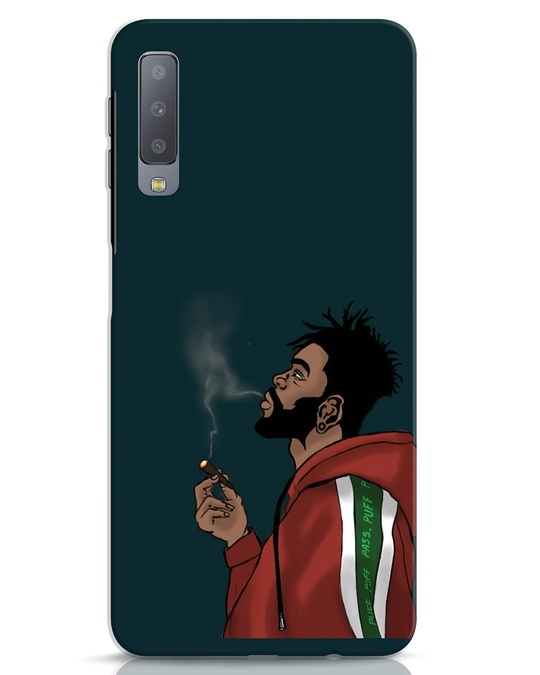 Shop Puff Puff Pass Samsung Galaxy A7 Mobile Cover-Front