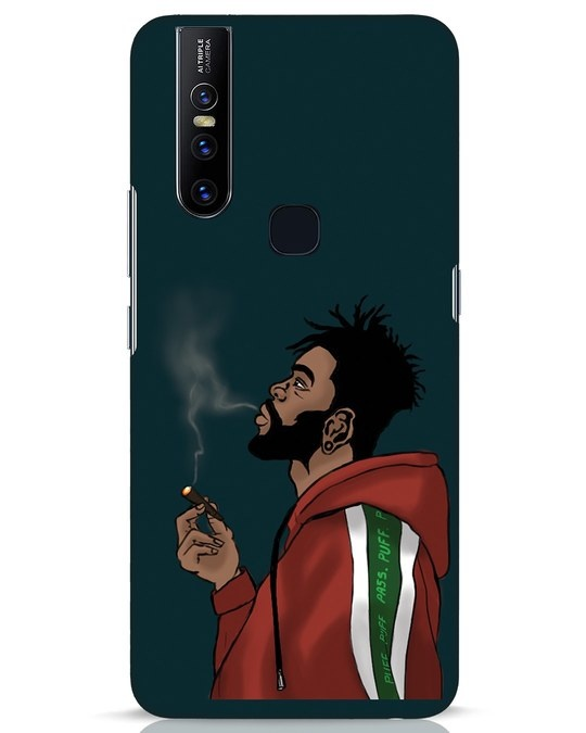 Shop Puff Puff Pass Vivo V15 Mobile Cover-Front