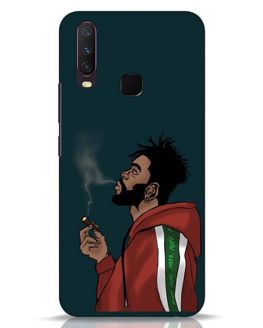 Shop Puff Puff Pass Vivo Y17 Mobile Cover-Front