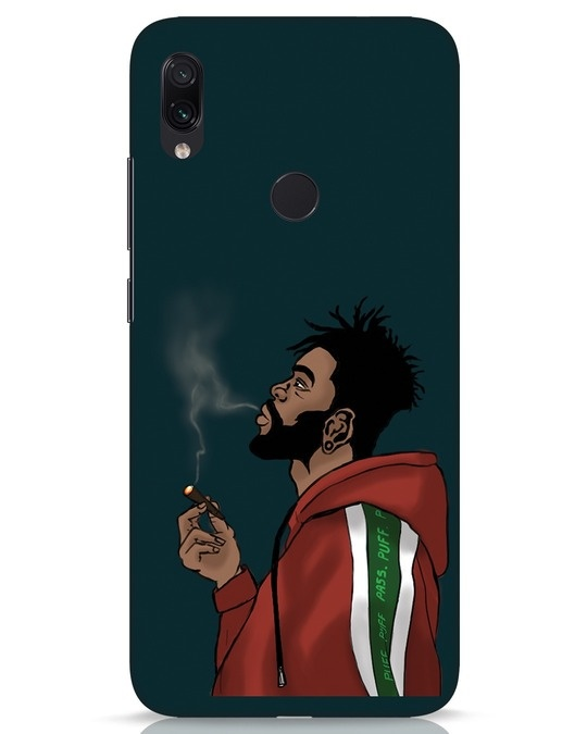 Shop Puff Puff Pass Xiaomi Redmi Note 7s Mobile Cover-Front