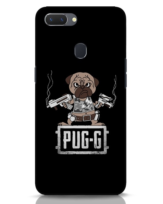 Shop Pug G Realme 2 Mobile Cover-Front