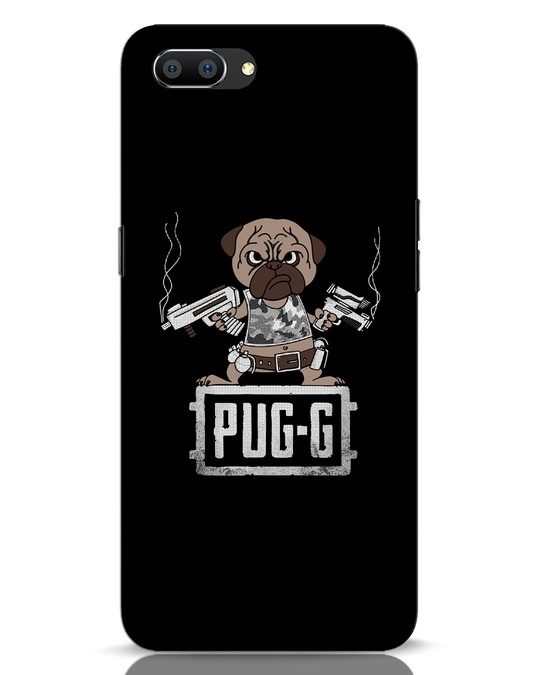 Shop Pug G Realme C1 Mobile Cover-Front
