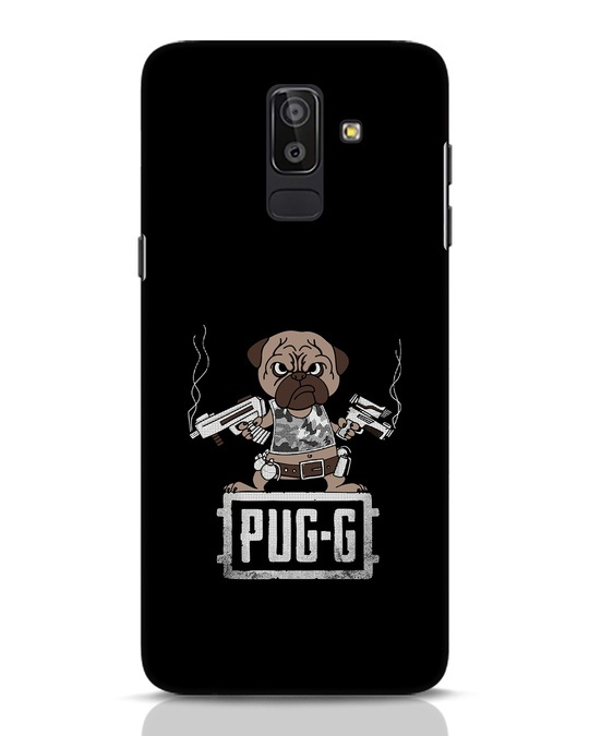 Shop Pug G Samsung Galaxy J8 Mobile Cover-Front