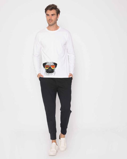 Shop Pug Vacation Full Sleeve T-Shirt