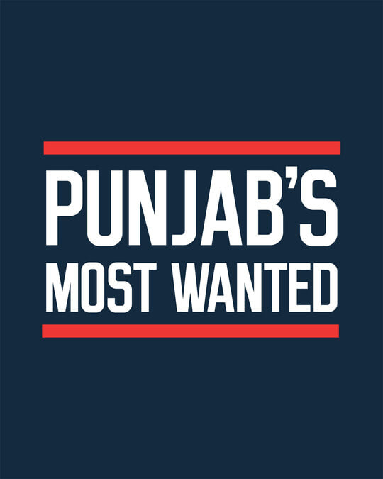 Shop Punjab's Most Wanted Boyfriend T-Shirt