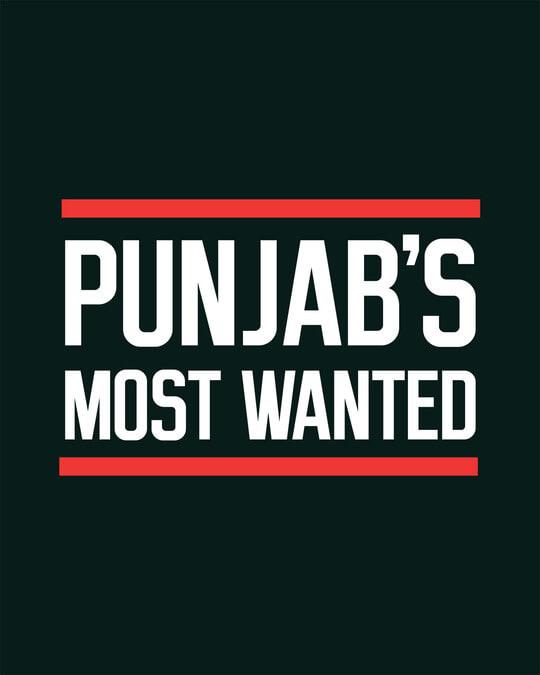 Shop Punjab's Most Wanted Boyfriend T-Shirt