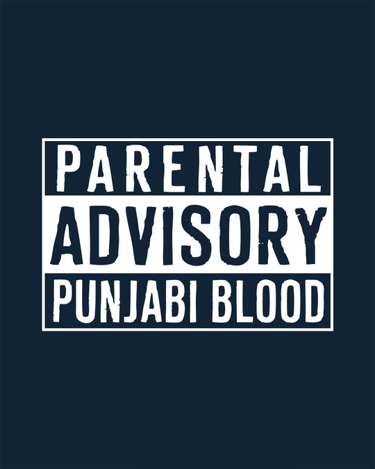 Shop Punjabi Blood Full Sleeve T-Shirt