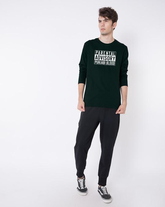 Shop Punjabi Blood Full Sleeve T-Shirt