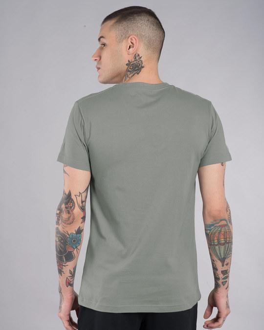 Shop Punk Skull Half Sleeve T-Shirt-Full