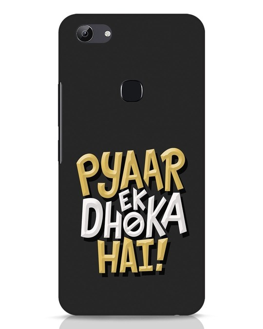 Shop Pyaar Ek Dhoka Hai Vivo Y83 Mobile Cover-Front