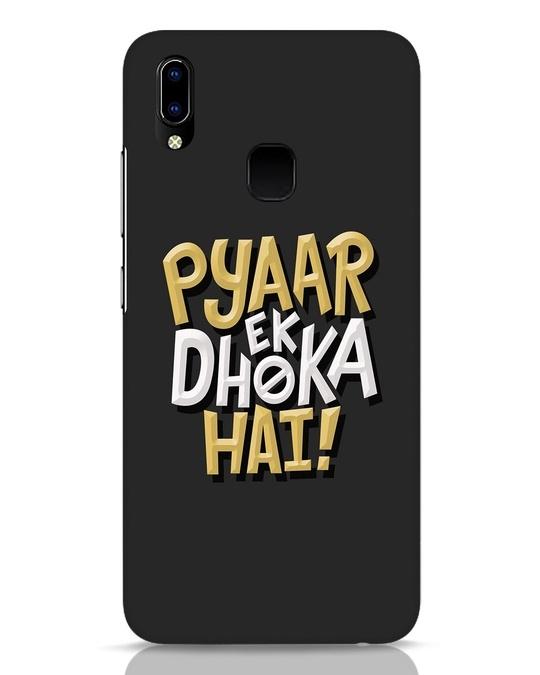 Shop Pyaar Ek Dhoka Hai Vivo Y93 Mobile Cover-Front