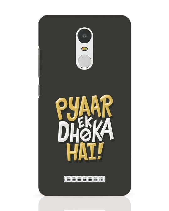 Shop Pyaar Ek Dhoka Hai Xiaomi Redmi Note 3 Mobile Cover-Front