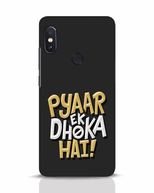 Shop Pyaar Ek Dhoka Hai Xiaomi Redmi Note 5 Pro Mobile Cover-Front